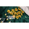 green cotton silk with kagoj full 3d embroidery blouse2(1)