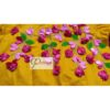 yelow cotton silk with kagoj full 3d embroidery blouse2
