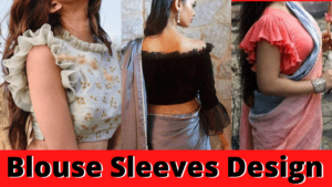 latest blouse sleeves design images